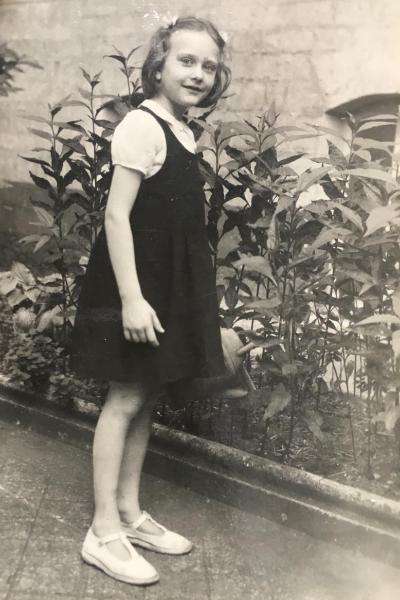 Françoise Randy enfant danseuse et chorégraphe
