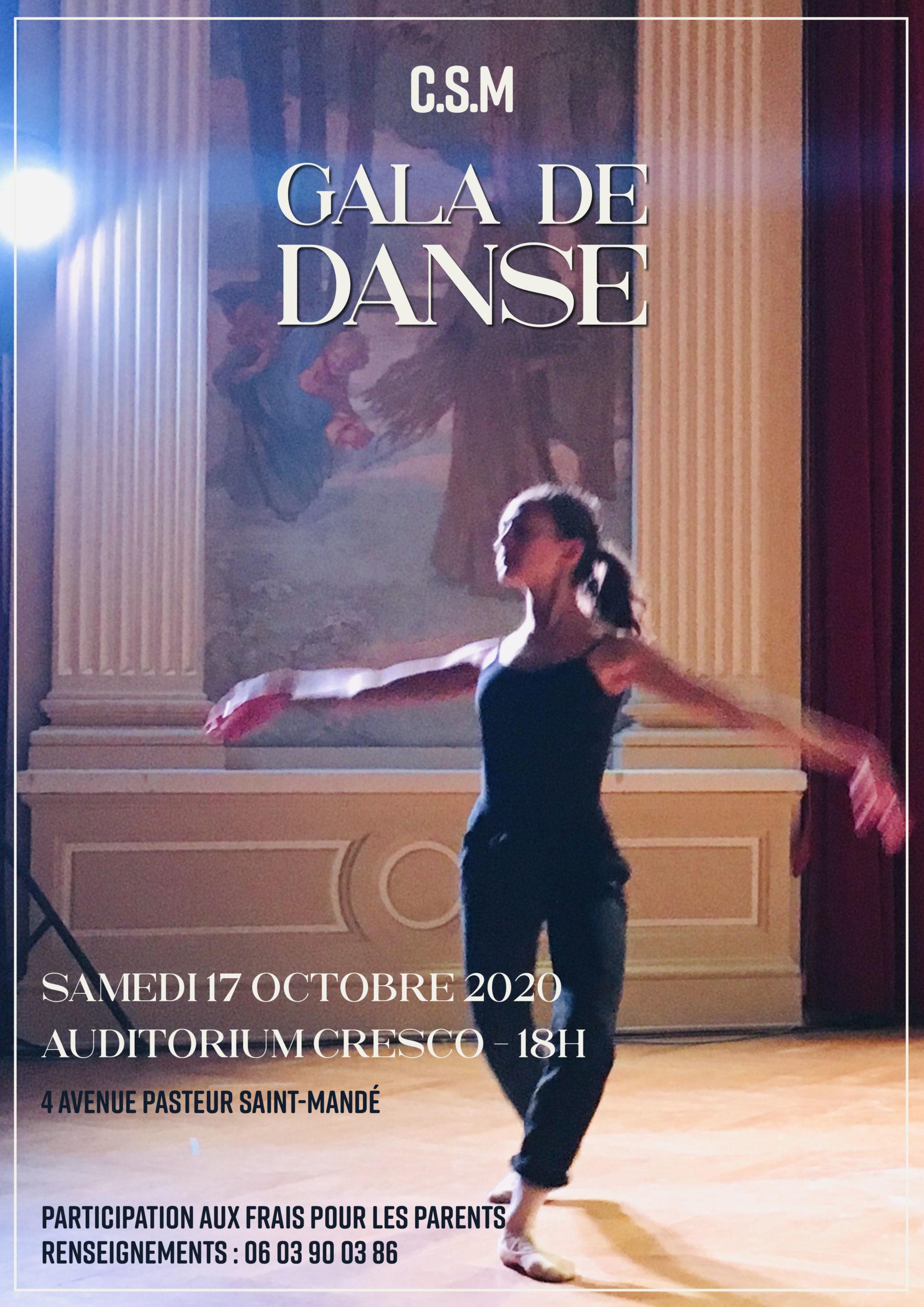 le gala de l'école de la danse classique de Françoise Cadol
